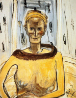 Алиса Нил. Дама в желтом