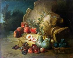 Жан-Батист Удри. Натюрморт с фруктами