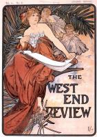 Альфонс Муха. Обложка журнала Западный конечный обзор, январь 1898 года