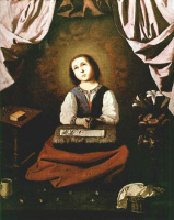 Франсиско де Сурбаран. Молодая Дева
