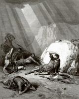 Поль Гюстав Доре. Иллюстрация к Библии: Савл на пути в Дамаск