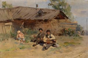 Константин Егорович Маковский. Бандура