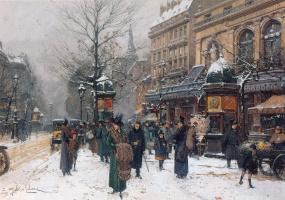 Эжен Галиен. Зима