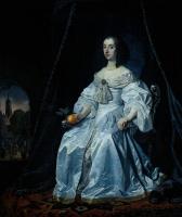 Бартоломеус ван дер Гельст. Дама в пышном платье