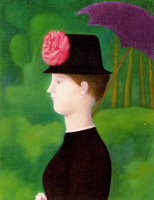 Антонио Буэно. Шляпка с цветком