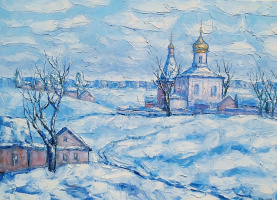 Алексей Иванович Гладких. Зимний пейзаж
