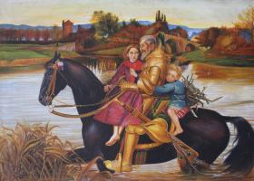Dream of the past (John Everett Millet)