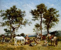 Джордж Вашингтон Уистлер. Установка лагеря