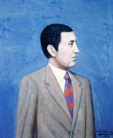 Хигинио Маллебрера. Мужчина в галстуке