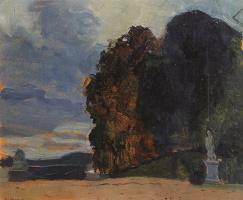 Константин Андреевич Сомов. В Версальском парке