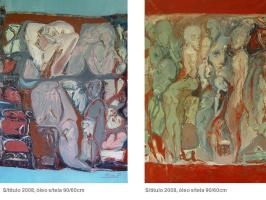 Alina Palamarciuc. Untitled I & II