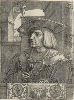 Лукас ван Лейден (Лука Лейденский). Портрет императора Максимилиана