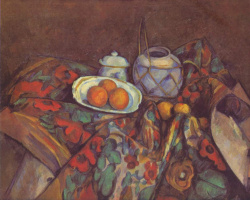 Paul Cezanne. Still life with oranges