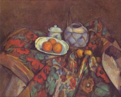 Поль Сезанн. Натюрморт с апельсинами