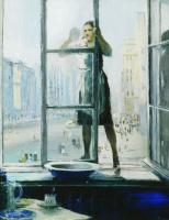 Юрий Иванович Пименов. Весеннее окно