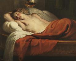Erasmus Quellin the Younger. Sleeping Cupid