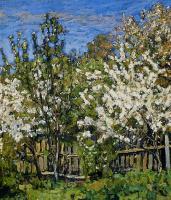 Петр Иванович Петровичев. Цветущий сад