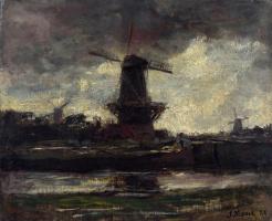 Иаков Марис. Три ветряные мельницы