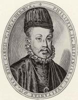 Антонио Кампи. Портрет Филипа II Испанского