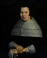 Самюэл ван Хогстратен. Портрет Маакен Ступ, жены Якоба Оузеля