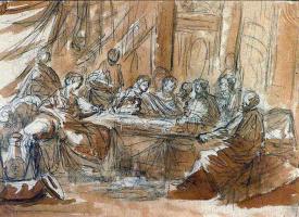 Антонио Корреджо. Чудо в Кане Галилейской.