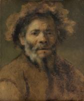 Фабрициус Карел. Портрет старика. Эскиз