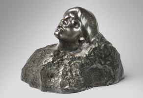 Auguste Rodin. The face of tribulation. Joan of Arc