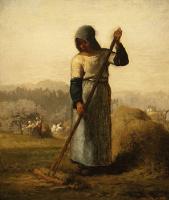 Жан-Франсуа Милле. Женщина с граблями