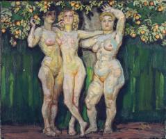 Frantisek Kupka. Autumn sun, three goddesses