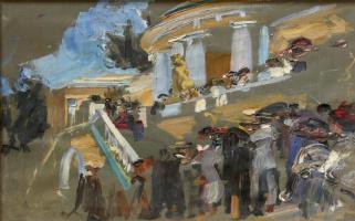 Семен Гавриилович Никифоров. Русский павильон на Всемирной выставке 1911 года в Риме