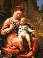 Антонио Корреджо. Мадонна с младенцем