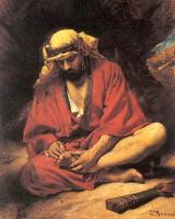 Леон Жозеф Флорантен Бонна. Араб извлекает шип из ноги
