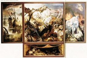 Отто Дикс. Война. Триптих