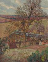 Арман Гийомен. Деревья и ферма в Сен-Шерон