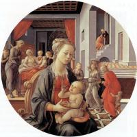 Филиппино Липпи. Мадонна и дитя