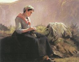 Анна Клампк. Рукодельница