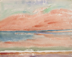 Giovanni Giacometti. Lake Sils