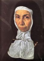 Диего Веласкес. Преподобная мать Херонима де ла Фуэнте (фрагмент)