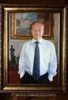 Portrait of V. L. Eremin, Dean of gspa