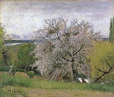 Хилль Карл Фредрик. Деревья