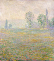 Claude Monet. Meadows at Giverny