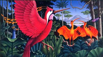 Гэри Оверакр. Розовые крылья