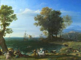 Клод Лоррен. Похищение Европы