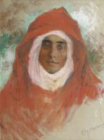 Люсьен Леви-Дюрмэ. Портрет молодой женщины