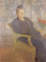 Ларсон. Женщина в кресле