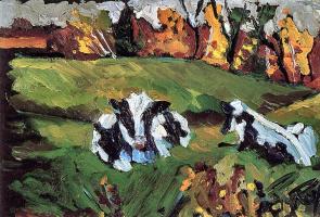 Роберт Рой. Коровы пасутся