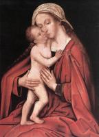Ганс  Старший Хольбейн. Дева с младенцем