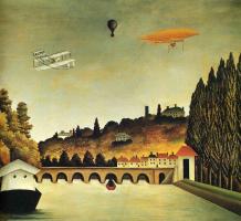Анри Руссо. Вид на мост в Севре