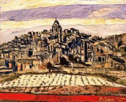 Бенджамин Паленсия. Вид на город