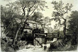 Andreas Achenbach. Stream